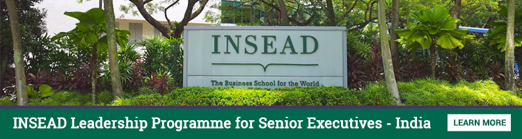 INSEAD Leadership Programme for Senior Executive - India