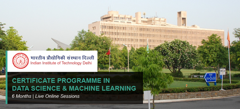 CERTIFICATE PROGRAMME IN DATA SCIENCE & MACHINE LEARNING
