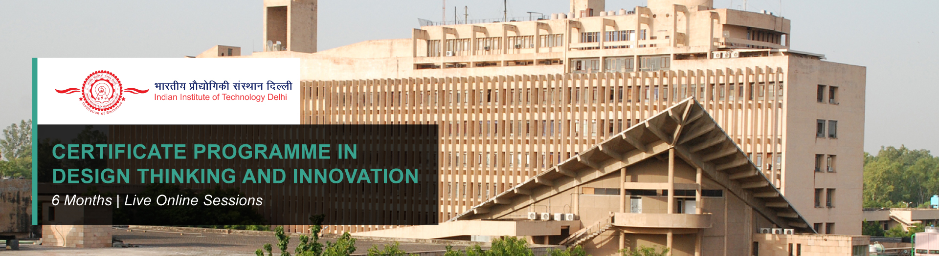 CERTIFICATE PROGRAMME IN DESIGN THINKING AND INNOVATION