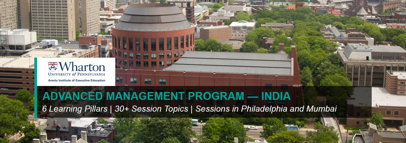 Wharton's Advanced Management Program — India (AMP)