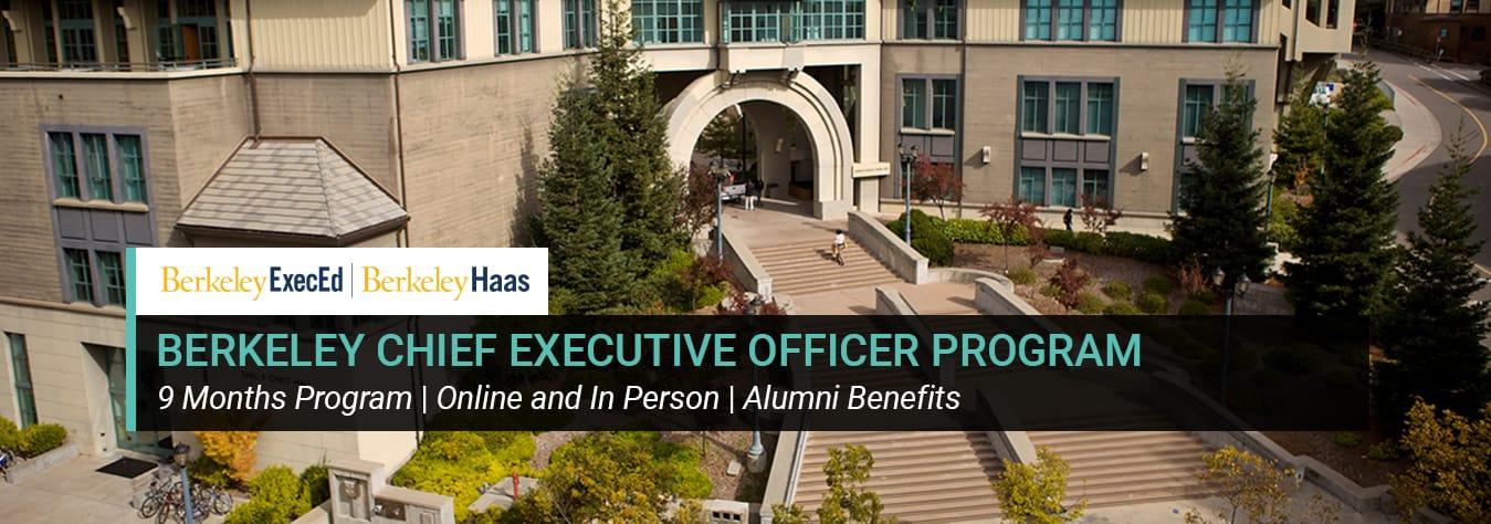 Berkeley Chief Executive Officer Program